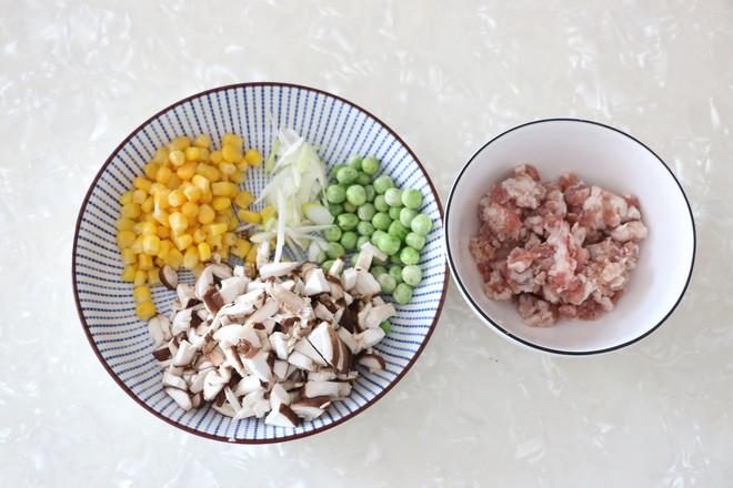 香菇糯米烧麦的简单做法