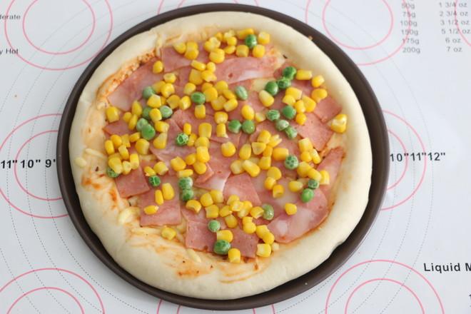 培根披萨怎么煸