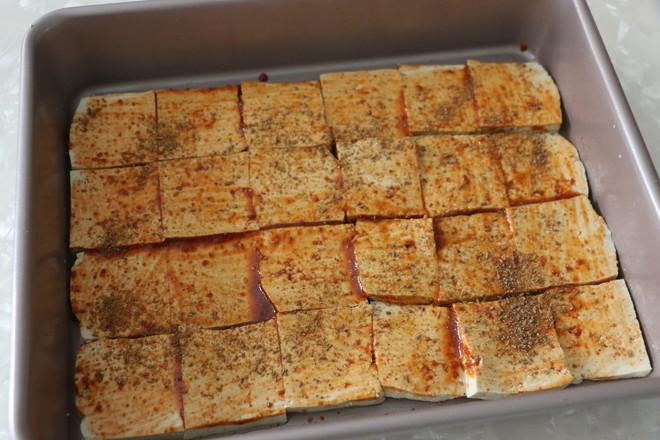 香辣烤豆腐怎么做