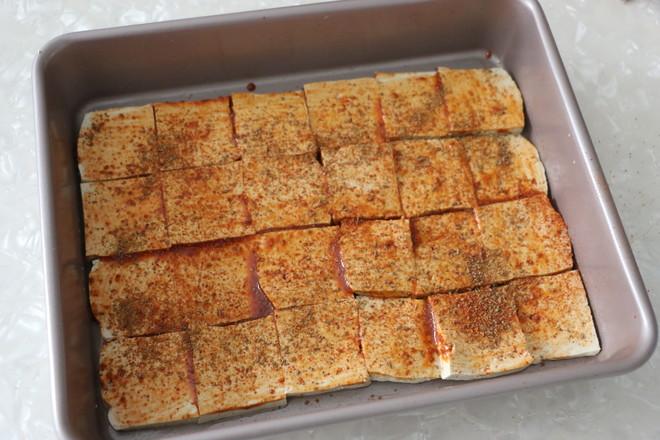 香辣烤豆腐怎么炒