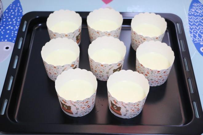 酸奶糯米糕的步骤