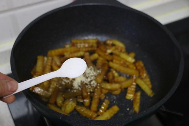 狼牙土豆条的步骤