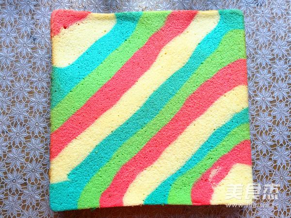 彩虹裸蛋糕怎样煸