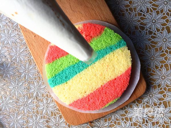 彩虹裸蛋糕怎样煮