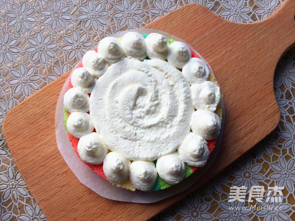彩虹裸蛋糕怎样炖