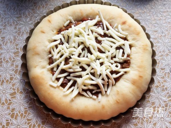 彩蔬牛肉披萨的制作方法