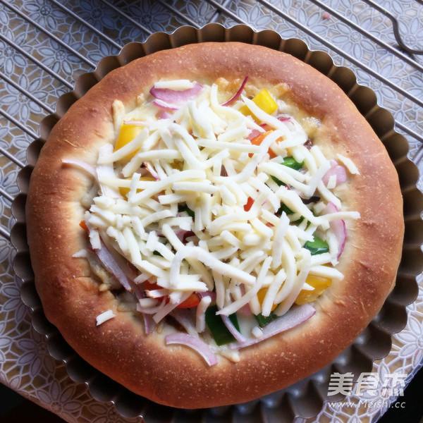 彩蔬牛肉披萨的做法大全