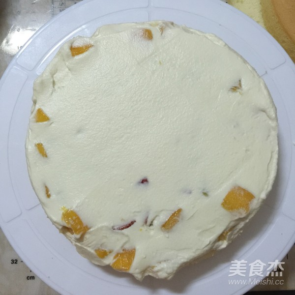 缤纷水果奶油蛋糕怎样煮