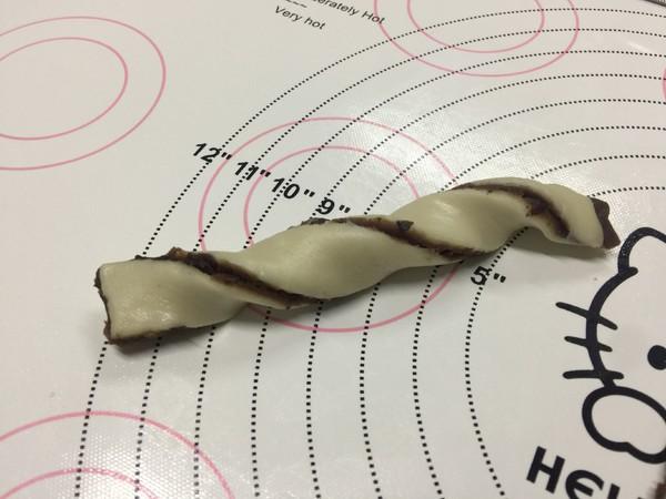 红豆扭扭酥的制作方法