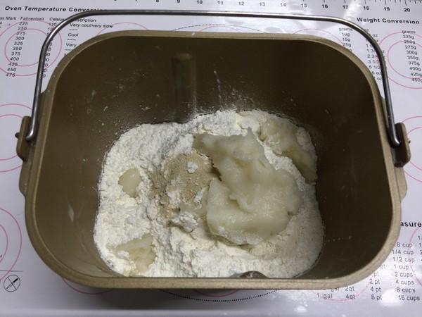 杏仁辫子面包(汤种,一次发酵)怎么吃