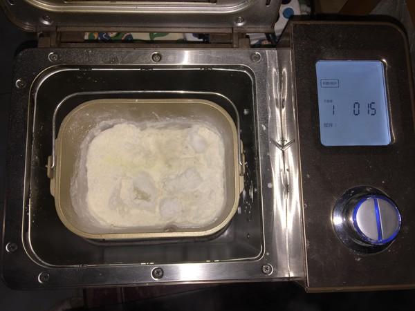 杏仁辫子面包(汤种,一次发酵)怎么做