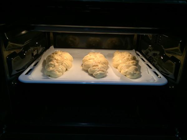 杏仁辫子面包(汤种,一次发酵)的制作大全