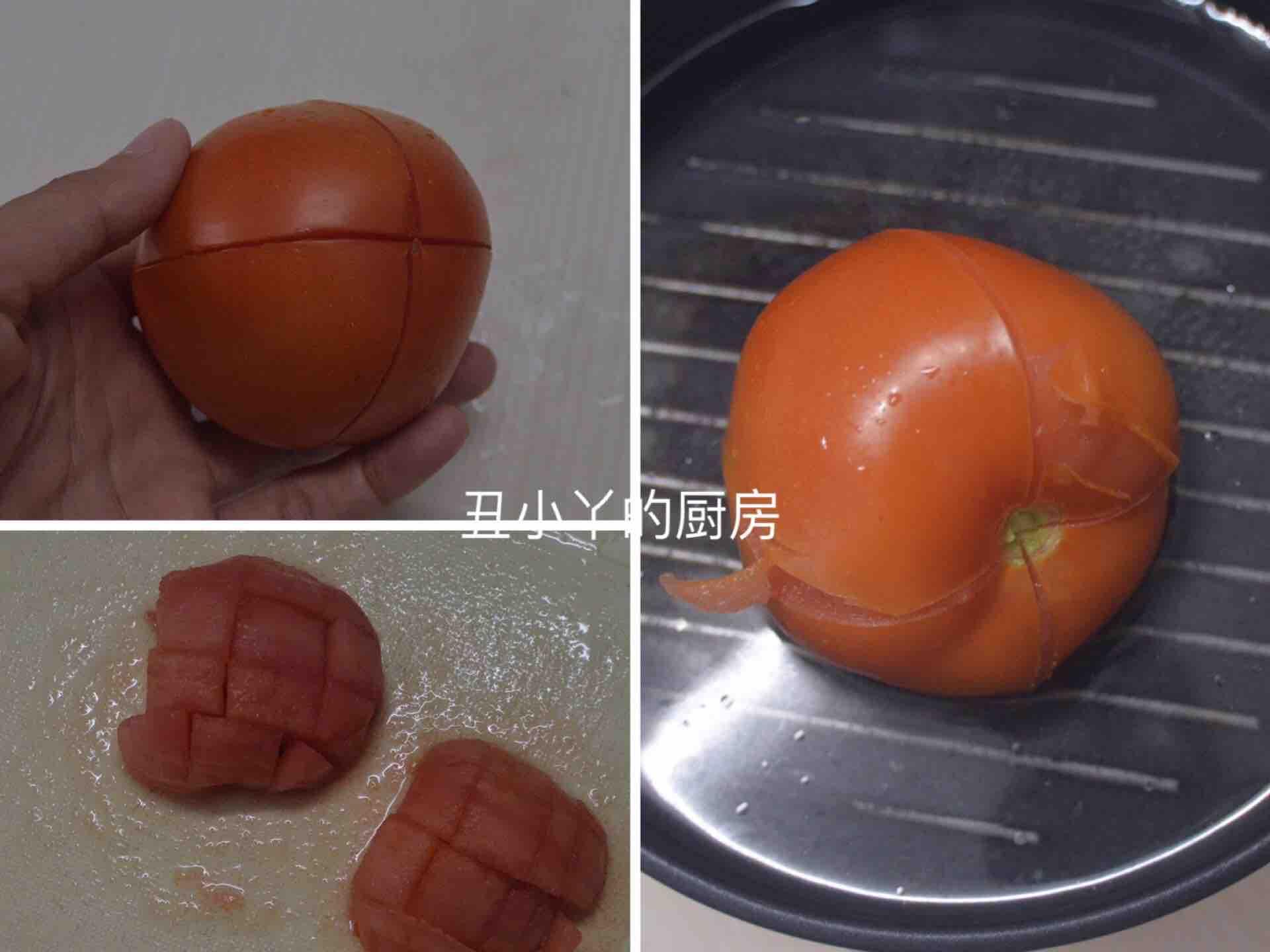酸爽开胃 番茄豆腐鸡蛋羹的做法图解