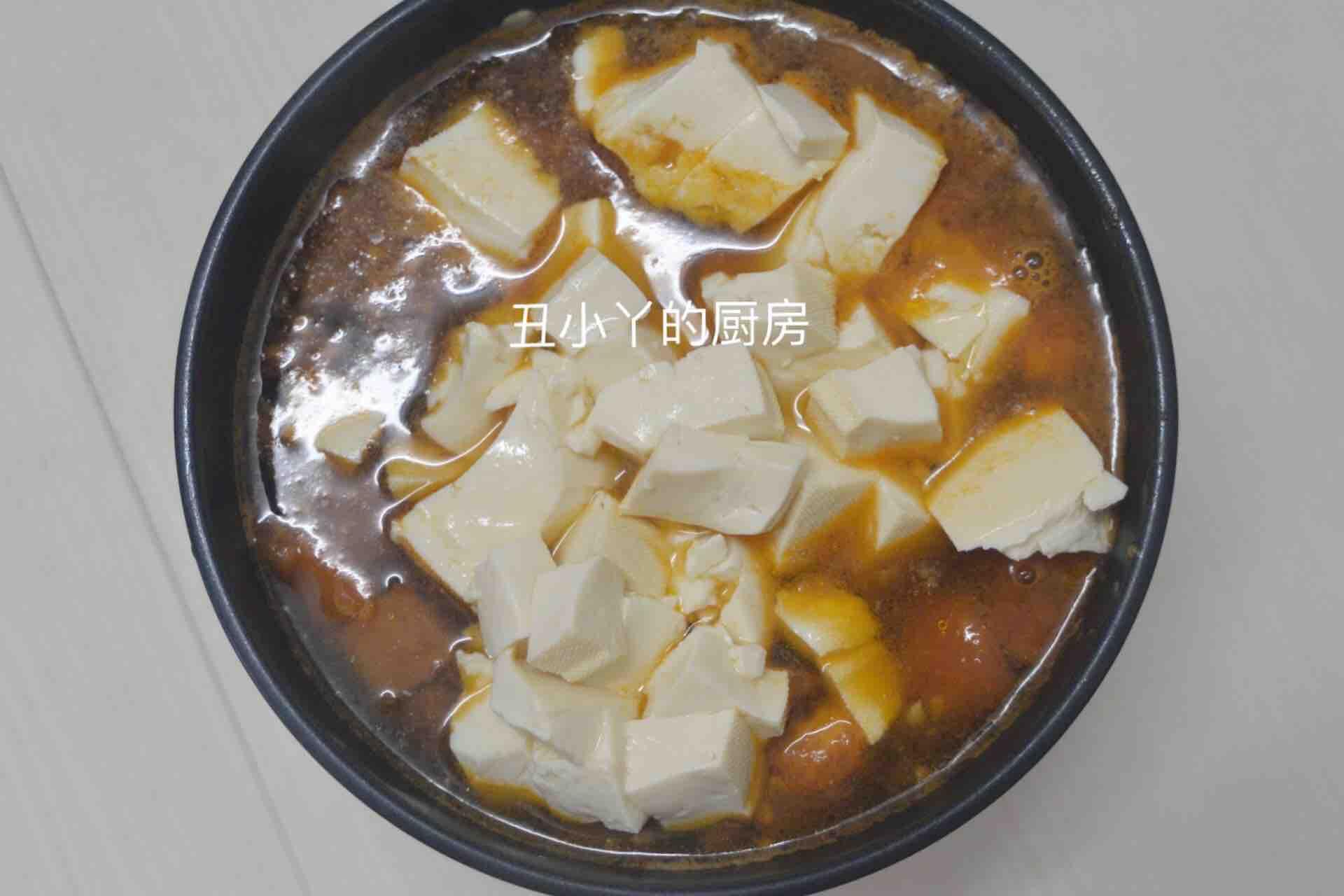 酸爽开胃 番茄豆腐鸡蛋羹怎么做