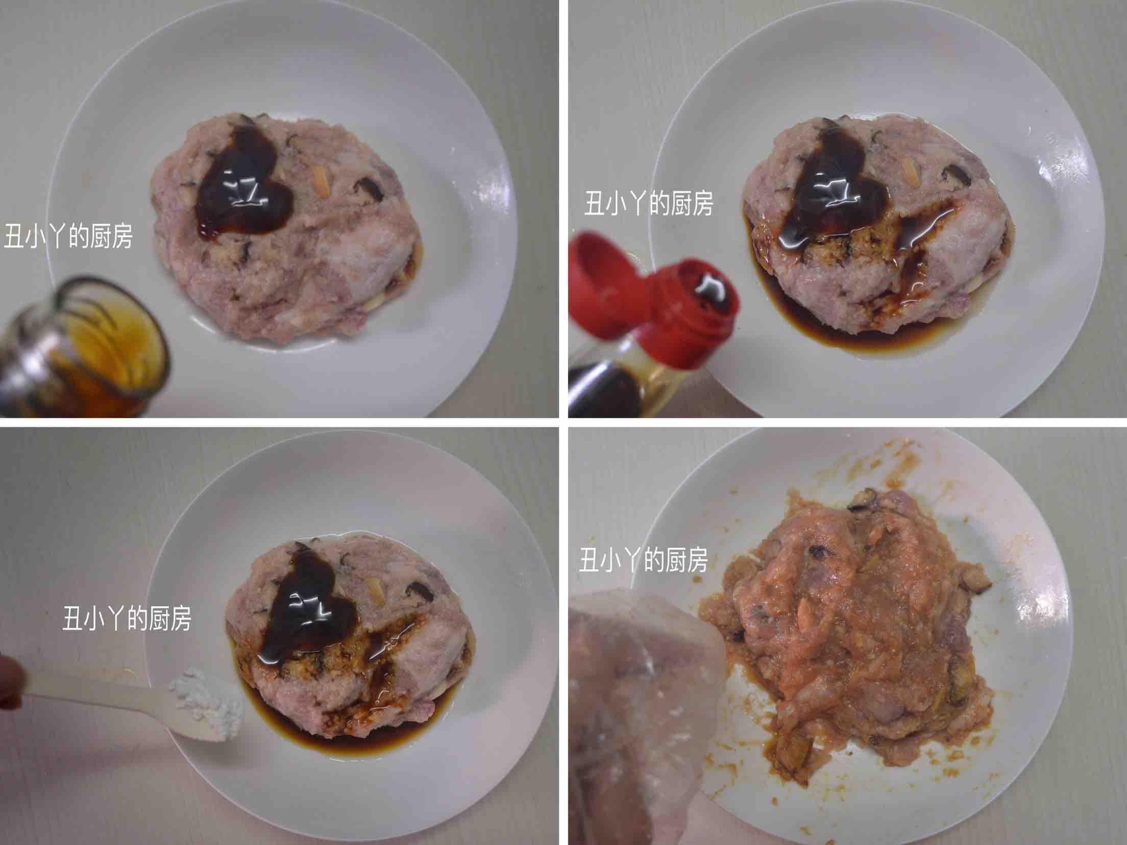 红萝卜+山药+马蹄蒸肉饼+蒸蛋的家常做法