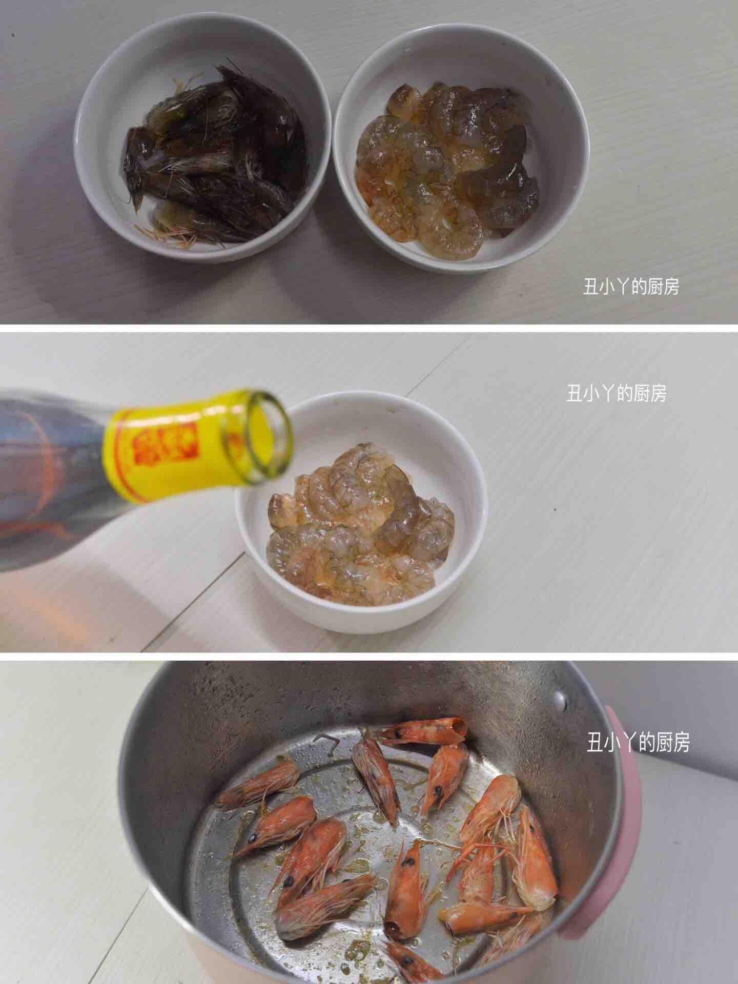 西兰花虾仁鸡蛋豆腐汤的做法图解