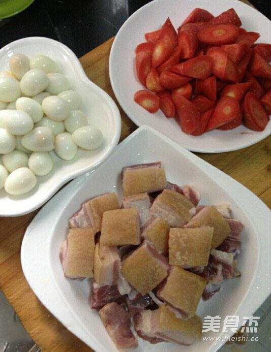 胡萝卜红烧肉家常做法的家常做法