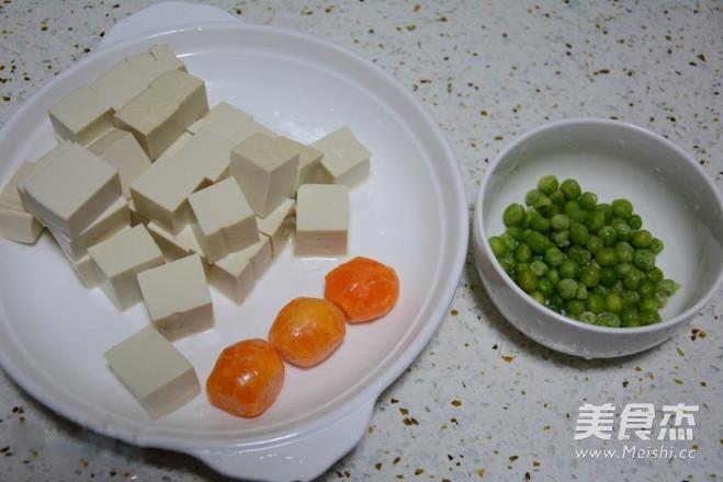 蟹黄豆腐家常做法的做法大全