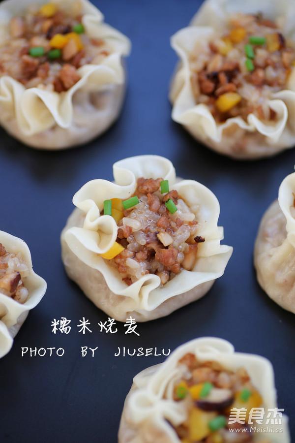 糯米烧麦(饺子皮版)怎么煮