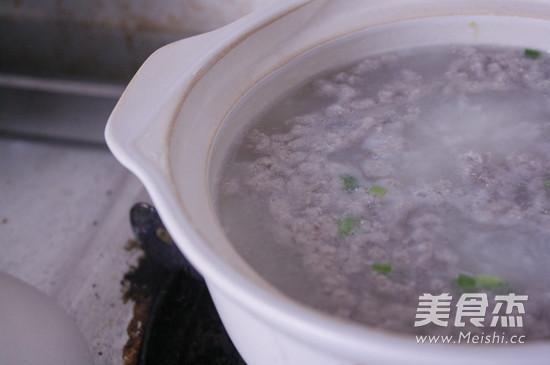 砂锅皮蛋瘦肉粥怎么吃