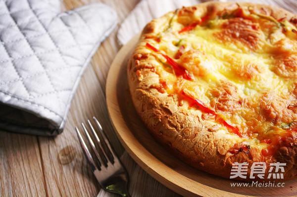 辣味虾仁培根香肠披萨怎样煸
