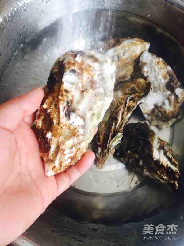 蒜蓉辣酱蒸牡蛎的做法大全