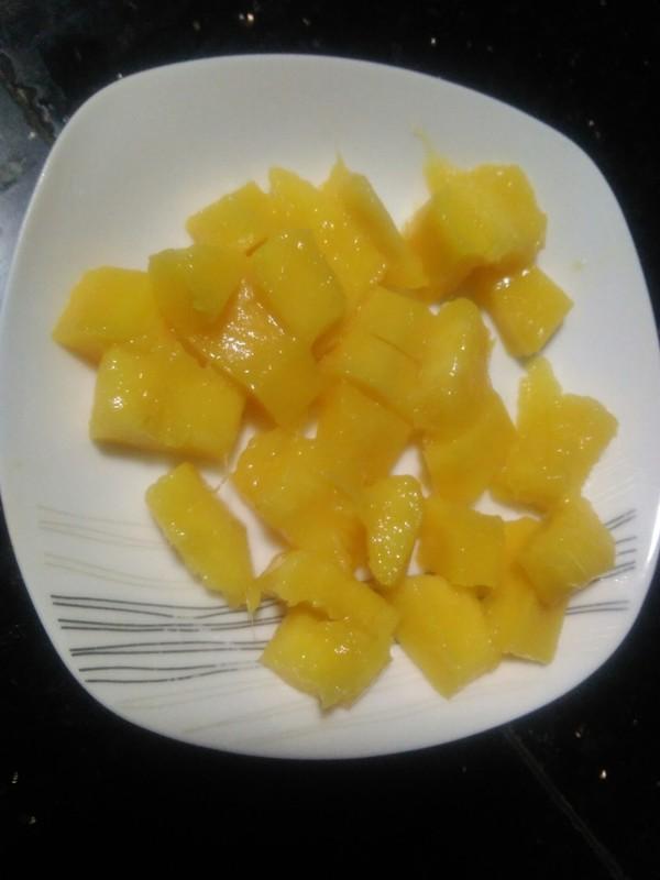 芒果牛奶西米露的简单做法