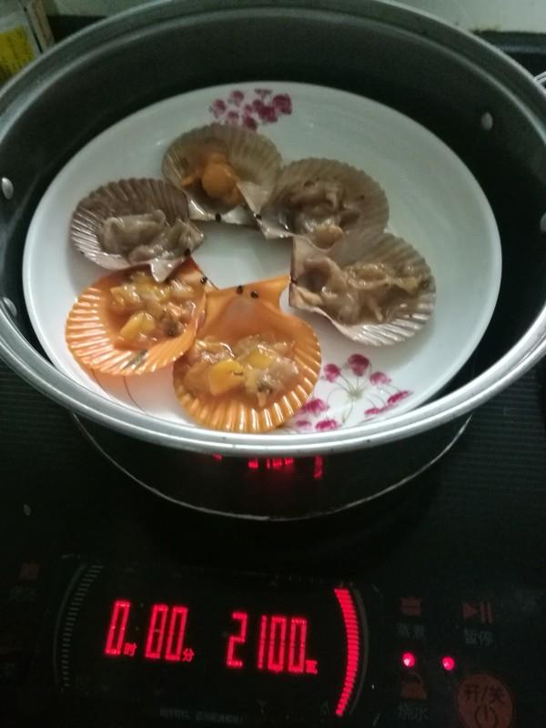 蒸扇贝怎么吃