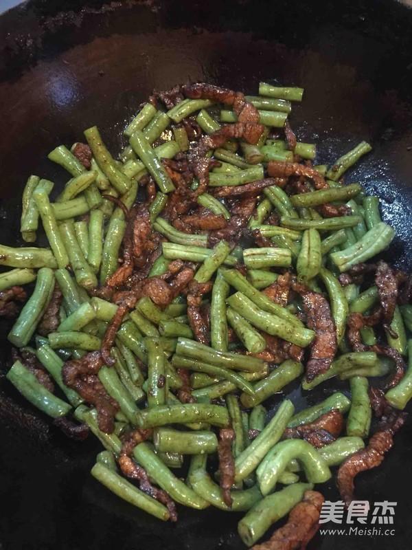 扁豆焖面怎么炒