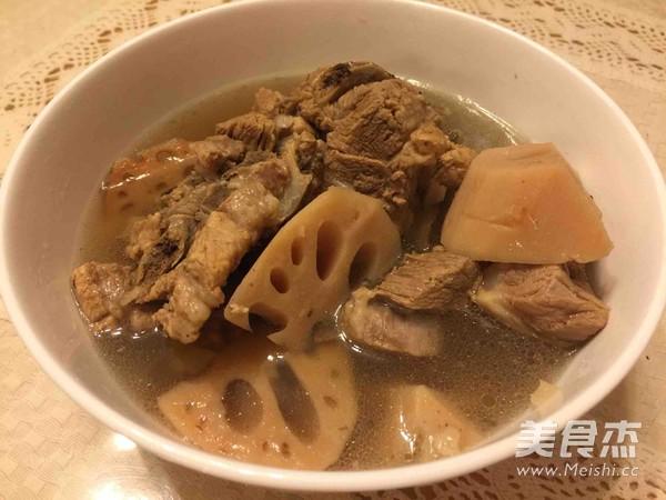 排骨藕汤的做法大全