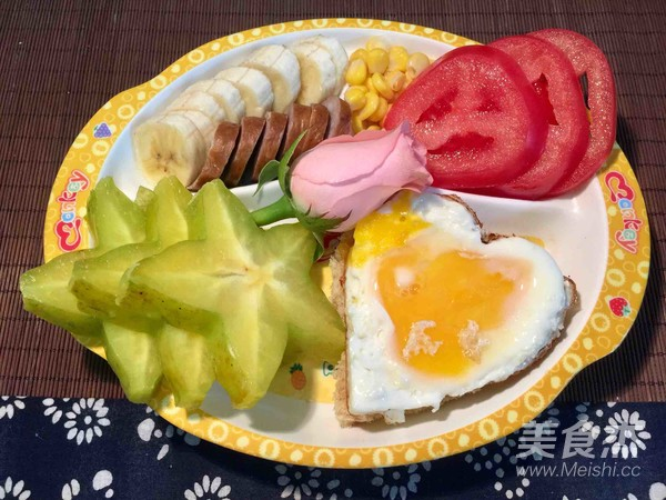 营养早餐的做法图解