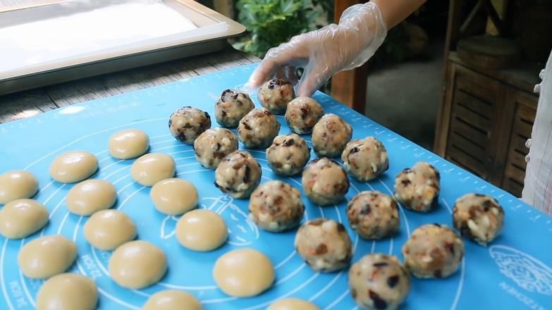 纯手工新五仁月饼的制作方法