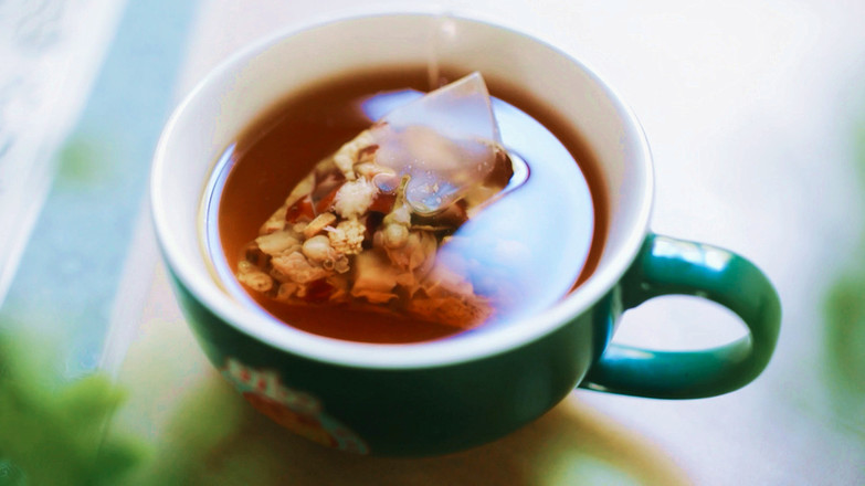 疏肝解郁茶成品图