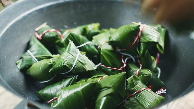 天然碱水粽——稻草灰粽的步骤