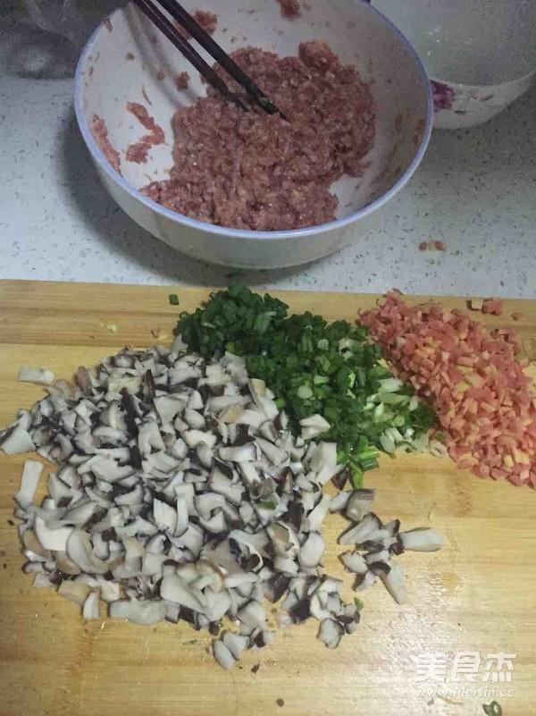 香菇猪肉饺子的家常做法