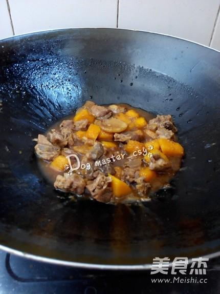 南瓜烧排骨怎么煮