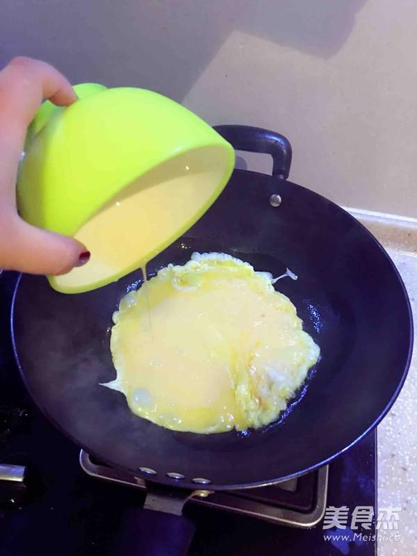 角瓜炒鸡蛋的家常做法
