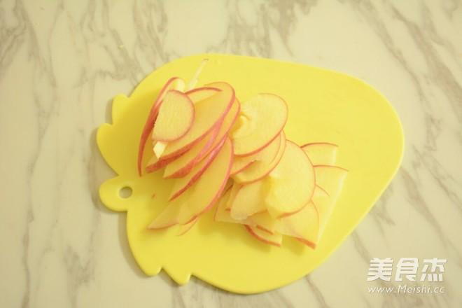 玫瑰苹果派的简单做法