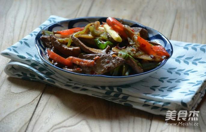 泡椒猪肝怎么煮