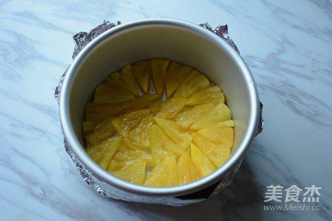 菠萝反转蛋糕怎么做
