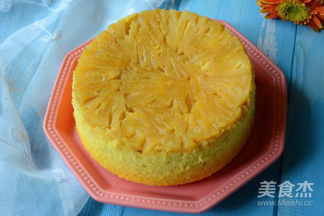菠萝反转蛋糕怎样煮