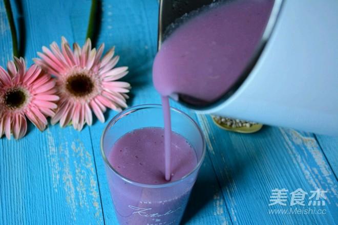 紫薯山药薏米糊的简单做法