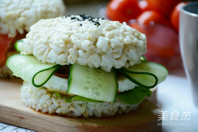 米饭汉堡怎样煮