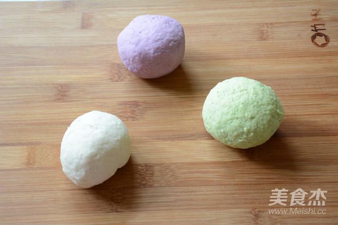 蔬菜彩色面条的做法图解