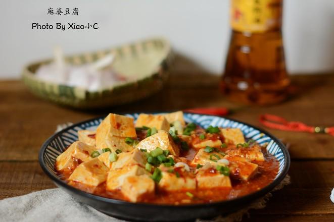 麻婆豆腐成品图