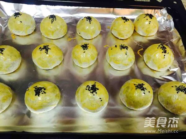 蛋黄酥的制作
