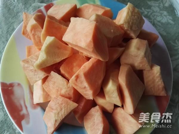 百变甜品 赤小豆红薯糖水的家常做法