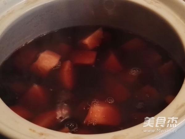 百变甜品 赤小豆红薯糖水的简单做法