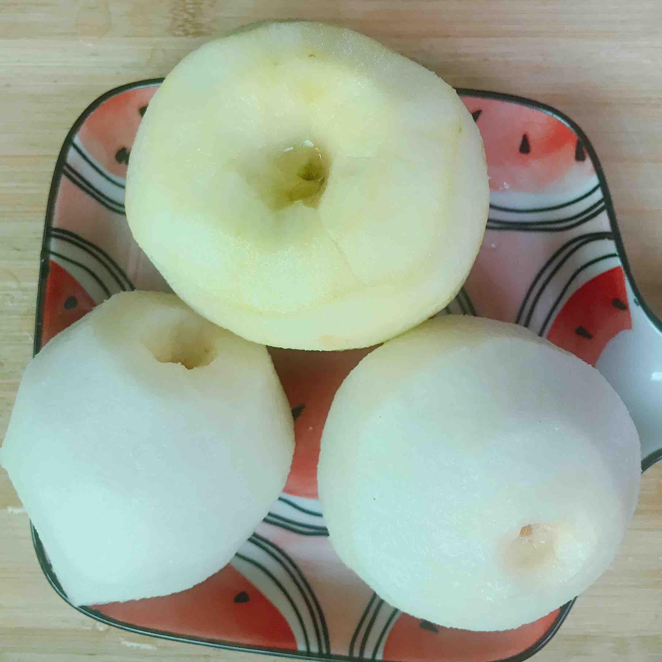 苹果雪梨汤的家常做法