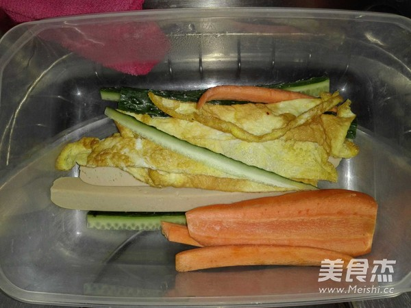 家常紫菜包饭的做法图解